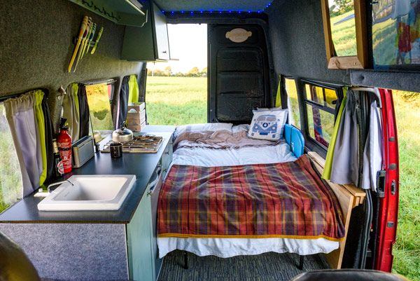 Van Tour Phil S Diy Camper But Wait Till You See The Shower