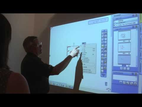 ▶ Hitachi Interactive Projector Demonstration - YouTube