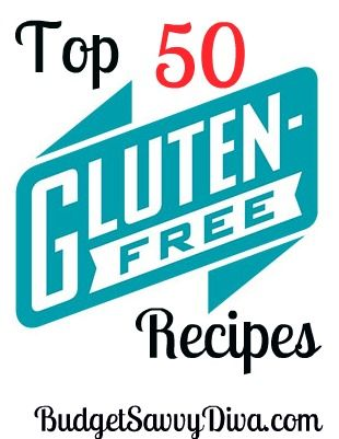 Fifty Gluten-free Recipes from The Budget Savvy Diva website