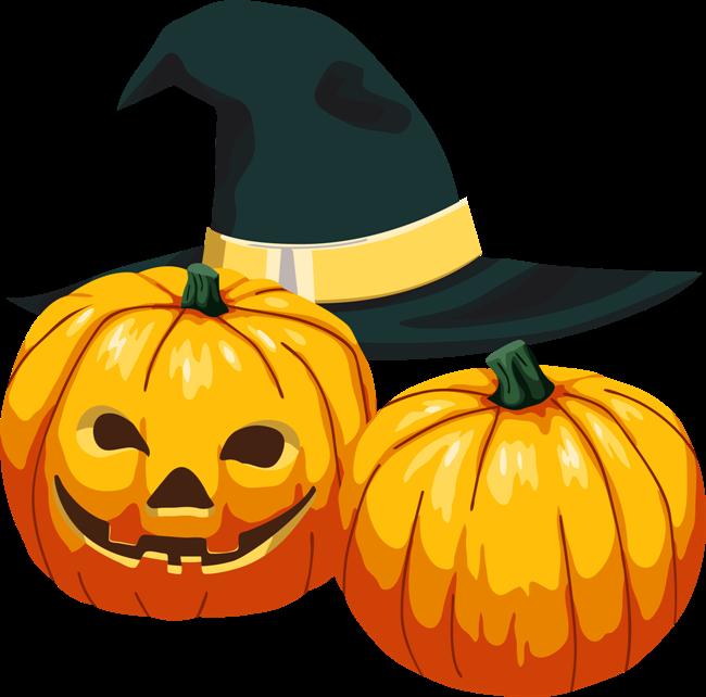 Хэллоуин тыквы - Картинки клипарт | Тыква на хэллоуин ...