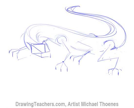 http://online-drawinglessons.com ( Discover how to draw dragons step ...