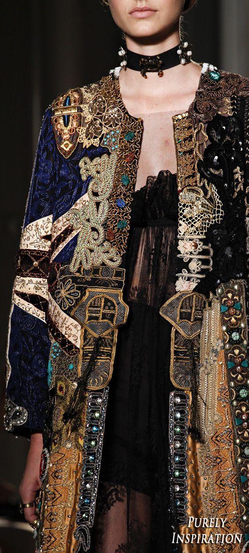 Couture-Modenschau Valentino Fall 2016 #runwaydetails