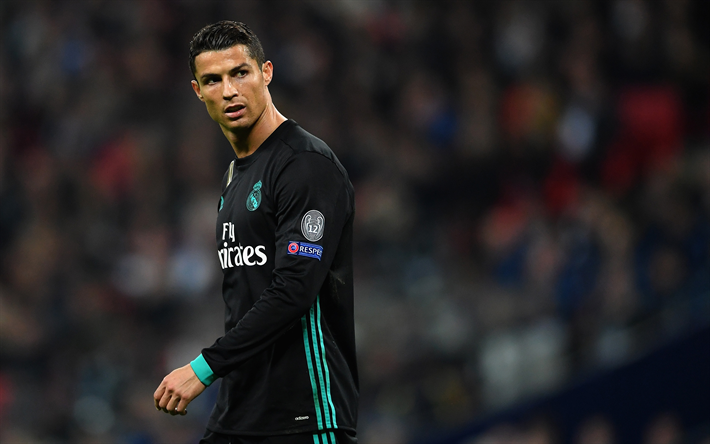 Download Wallpapers Cristiano Ronaldo 4k Match Cr7 Real