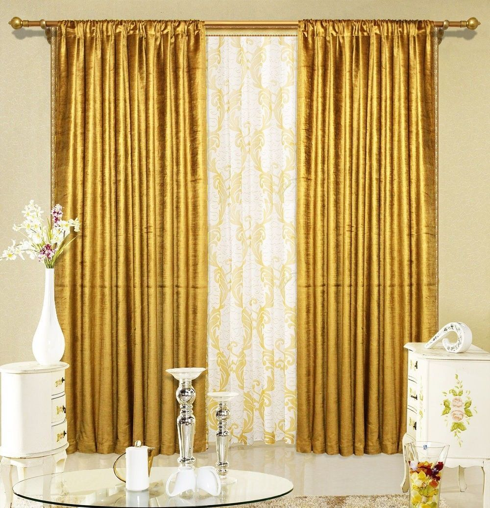 2 Tissue Lame Panel Drapes 5ft X 9ft Metallic Shiny Window Curtains Home Decor Drapes Curtains Curtains Velvet Drapes