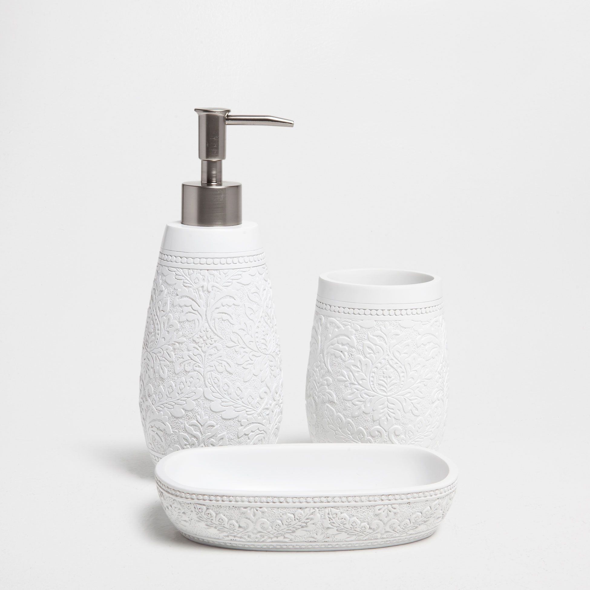 Resin Bathroom Accessories White Resin Bathroom Set Zara Home Home And Of