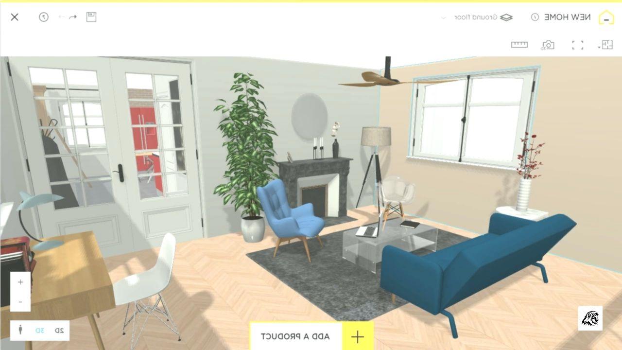 Free And Online 3d Home Design Planner Homebyme Designer Room