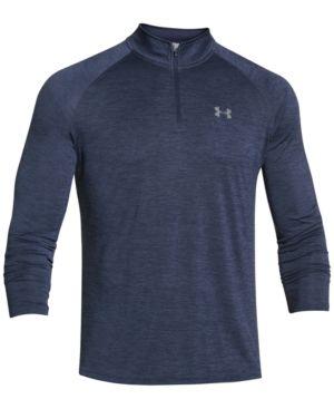 Under Armour Men's Tech Quarter-Zip Pullover - Blue XXL