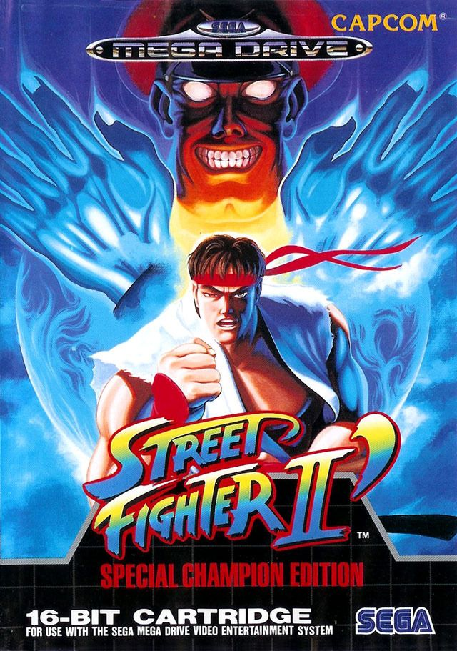Street Fighter Ii Champion Edition Megadrive Street Fighter