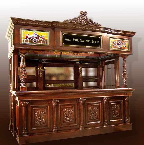 Custom Bars For Homes: ... Your Castle Or Getaway We