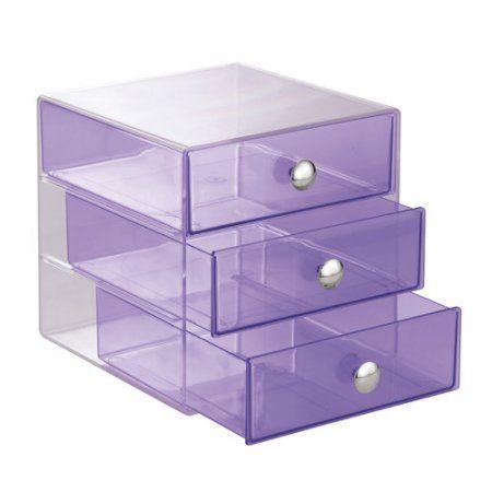 Beauty Diy Drawers Makeup Storage Drawers 3 Drawer Storage