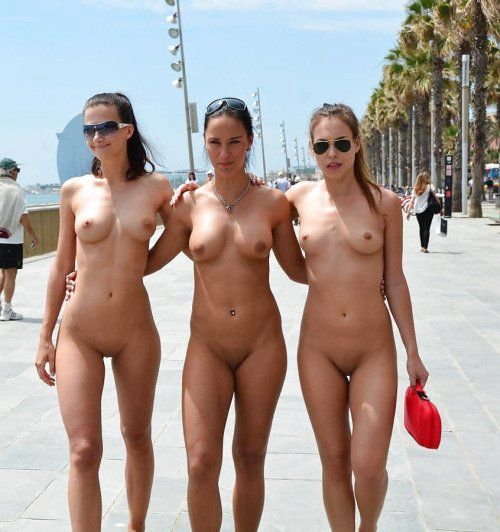 Girl party hard naked