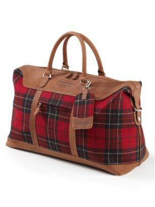9816c162a4f8 Pendleton Woolen Mills  BRODIE TARTAN WEEKENDER BAG