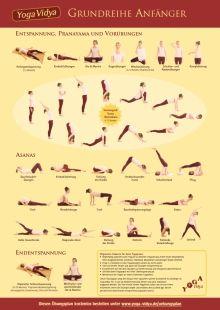 Yoga Ubungsplan Download Yoga Yoga Vidya Ubung Planer