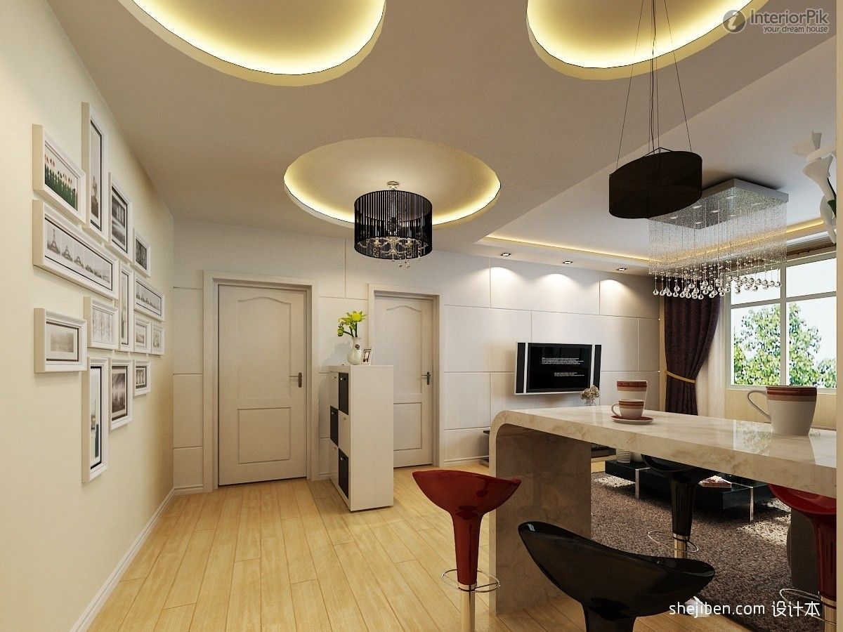 Dining Room Ceiling Designs Living Figure Of The Circular Decoration