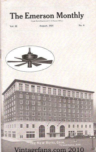 Vintage Fans In The News Vintage Fans L L C Texarkana Texas Texarkana Majestic Hotel