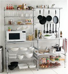 Free Standing Kitchen Round Up Rental Kitchen Pantry