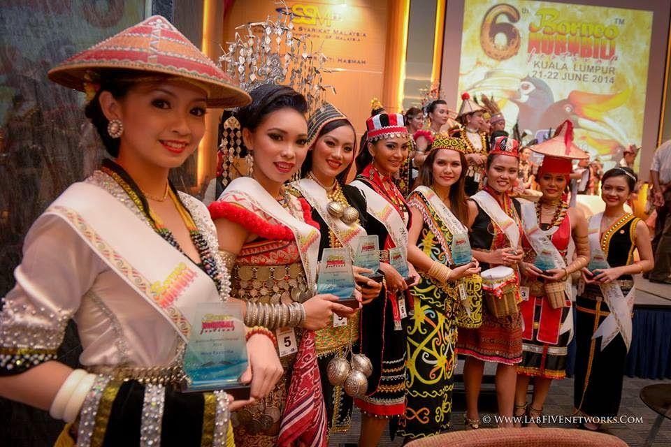 The Winner for Miss/Mr Sarawak & Sabah Ethnic 2014 Borneo Hornbill Festival 2014 ( Miss Borneo Ethnic Pageant) #Menara SSM KL Sentral Level 10 # 21.06.2014#PHOTO CREDIT :LabfiveNetworks