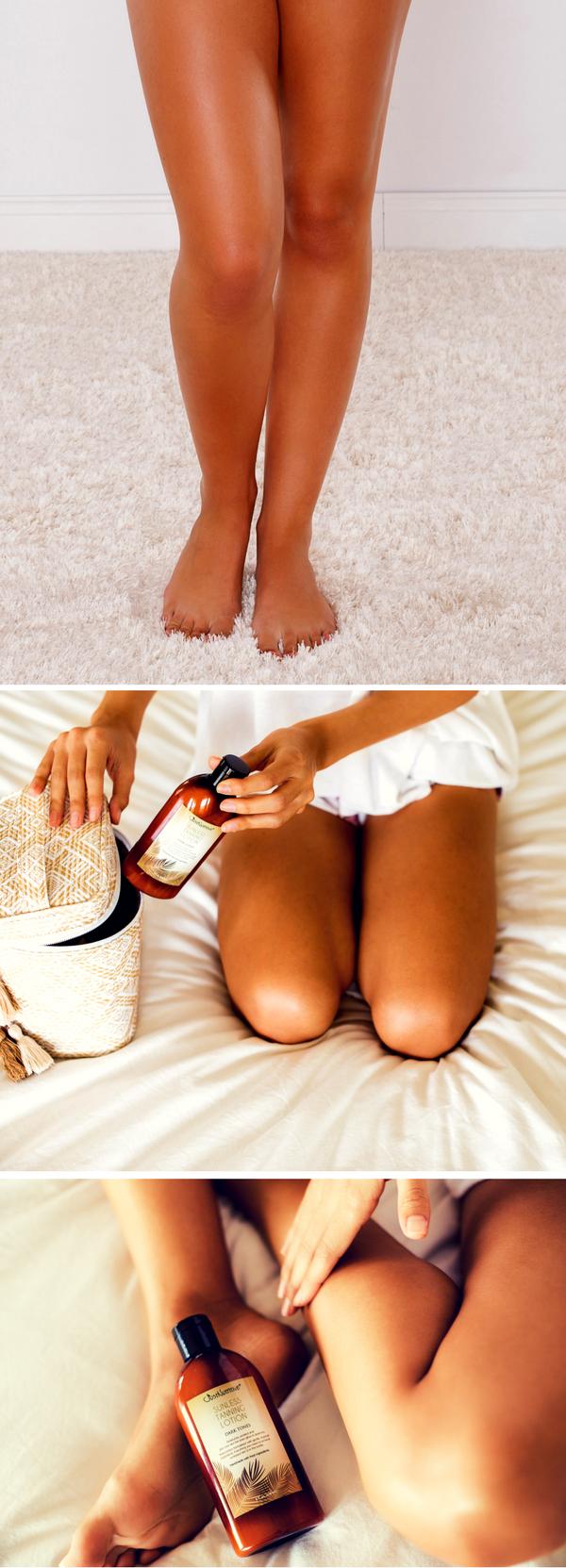 Seksi Pürüzsüz Bacaklar için Güzellik İpuçları