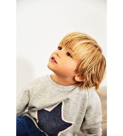 Star Sweatshirt Ryuchan In 2019 Baby Frisuren Baby Frisur Und
