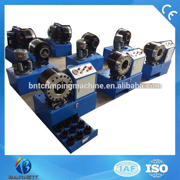 Bnt68 Semi Auto Hydraulic High Pressure Hose Swaging Machine For