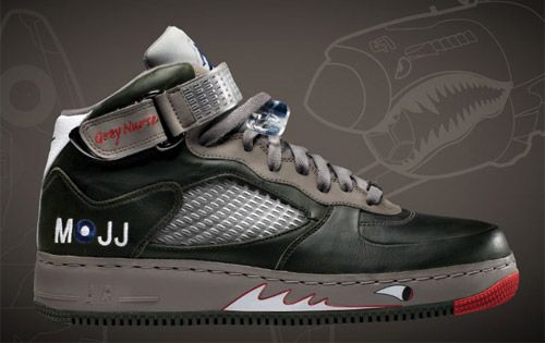 Nike Air Jordan Fusion V Grey Nurse  a807241b53