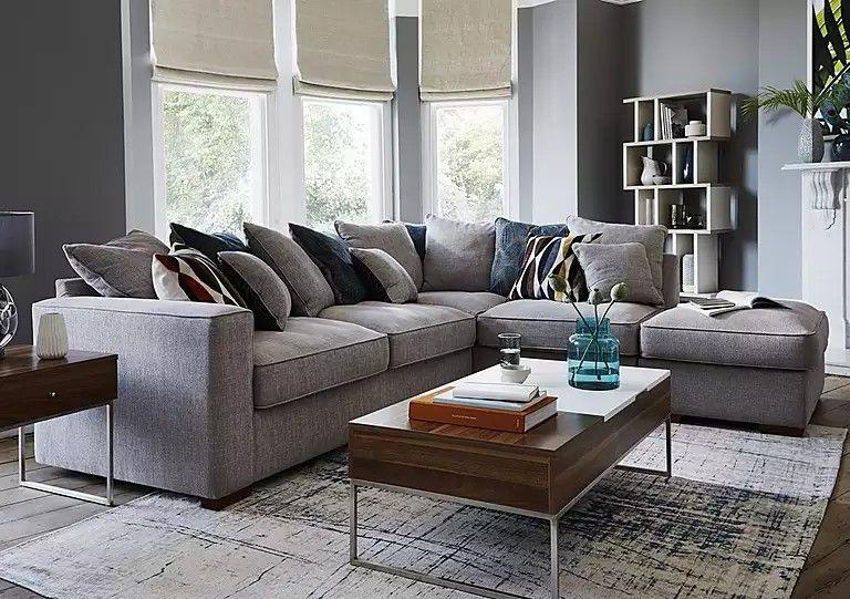 Https Www Furniturevillage Co Uk Seasons Pillow Back Fabric Corner Sofa Zfrsp000000000030590 Html Dwvar Corner Sofa Small Living Room Corner Sofa Sofa Offers