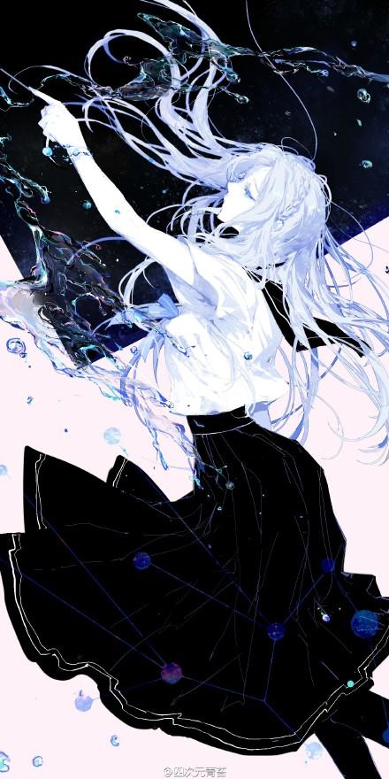 Virgo By Moss On Pixiv イラスト 女の子 アニメ絵十二星座