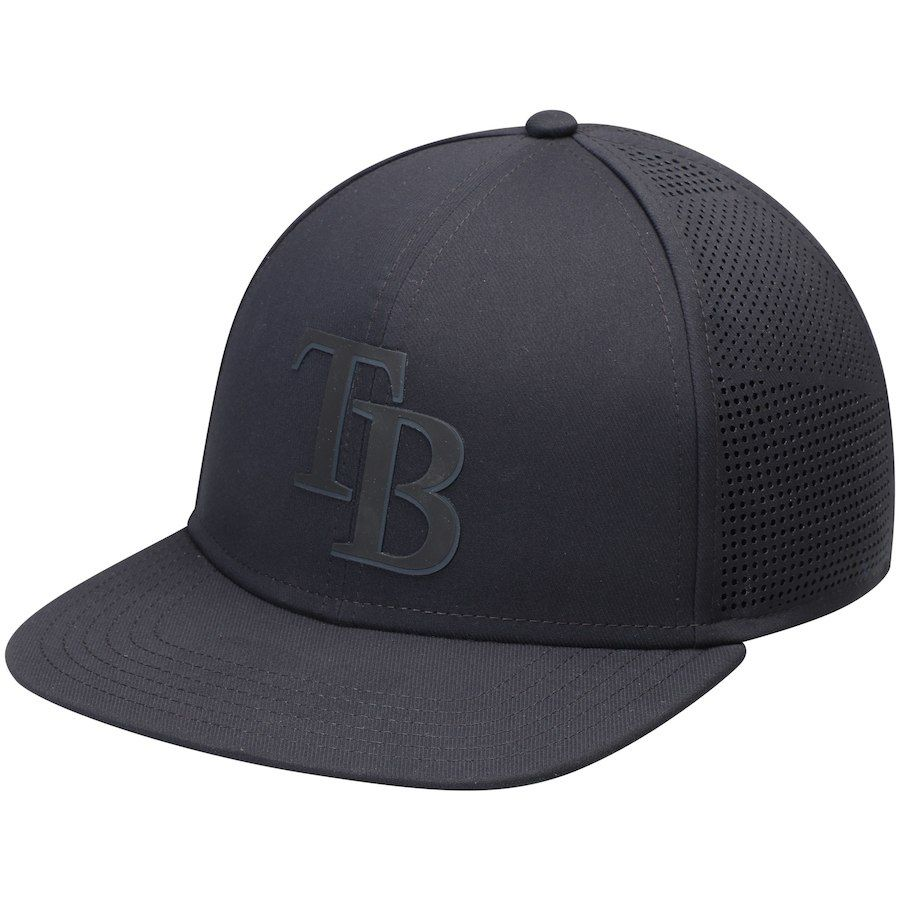 new concept 380c8 24890 Men s Tampa Bay Rays Under Armour Black Supervent Performance Team Logo  Adjustable Hat,  34.99