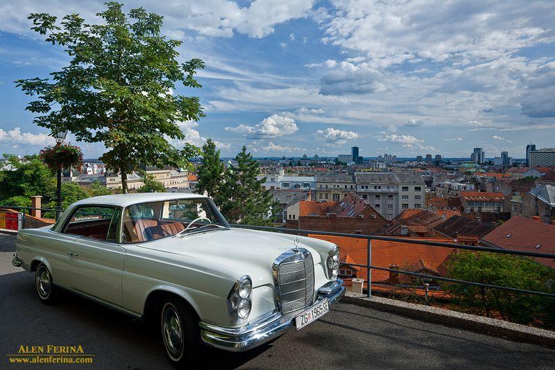 Oldtimer On Upper Town Zagreb Croatia Zagreb Croatia Towns