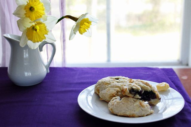 Blueberry Scones From Bobbette and Belle {Recipe}   embellish