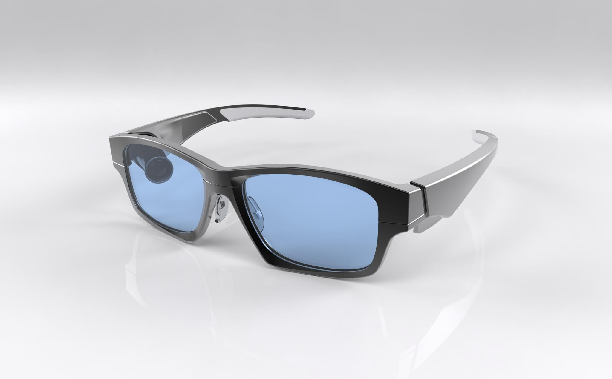 ff6a40e58779 GlassUp eyeglasses allow you to read text messages and e-mail directly from  your lenses. And tweets