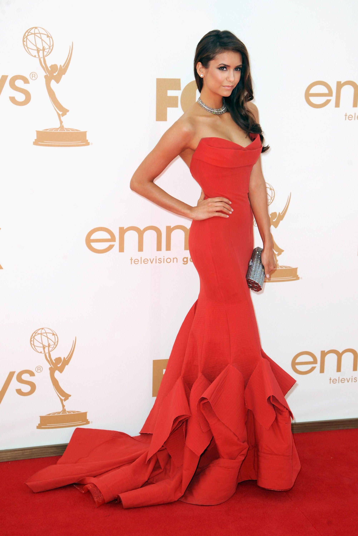 02ec70cc4 Nina Dobrev - 63rd Primetime Emmy Awards - Arrivals
