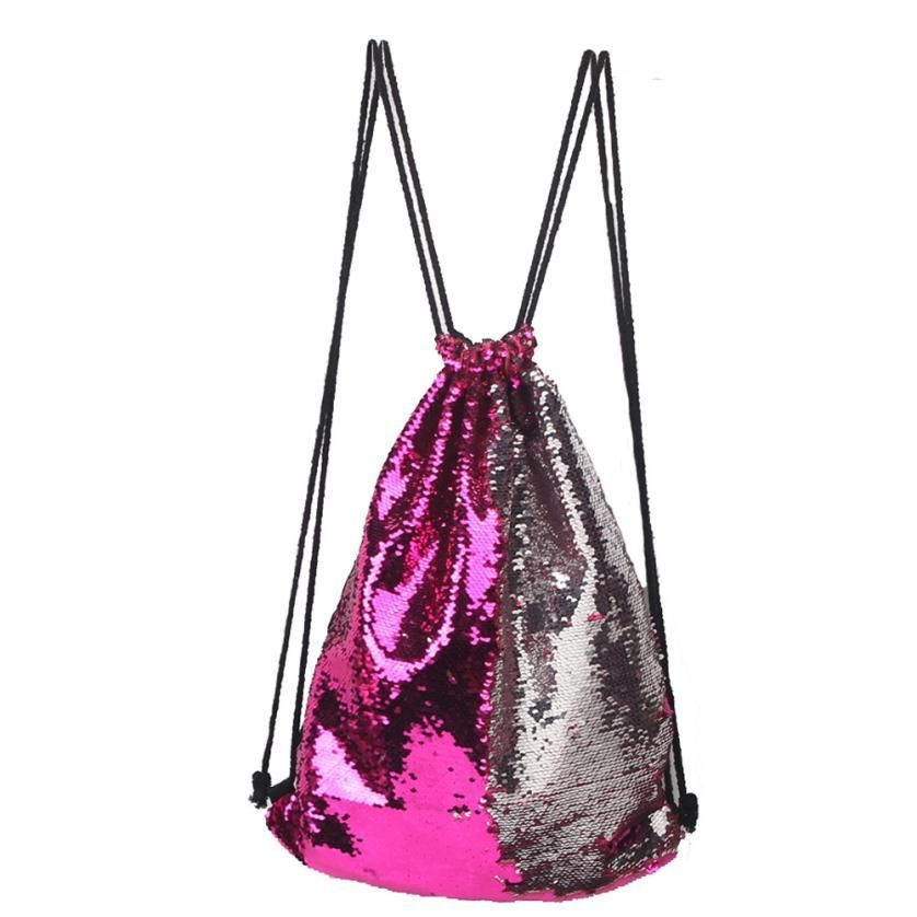 065aa56e43f3 Sequin Drawstring Backpack $14.99 | All About Bags in 2019 | Sequin ...