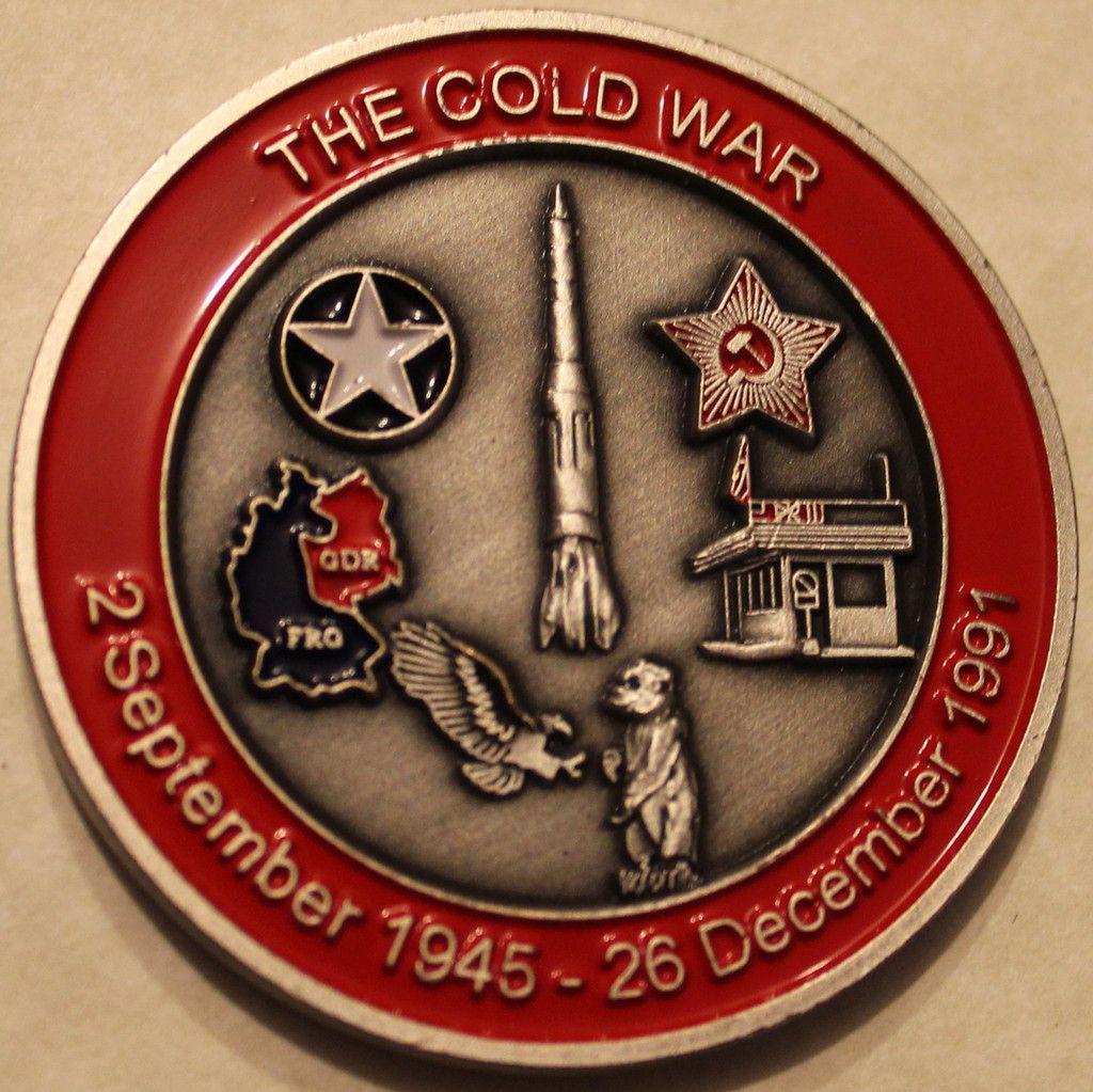 Cold War Veteran Challenge Coin Challenge coins, Coins