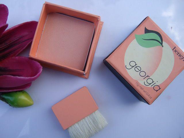 Benefit Georgia Peach Blush | // make-up + skin care