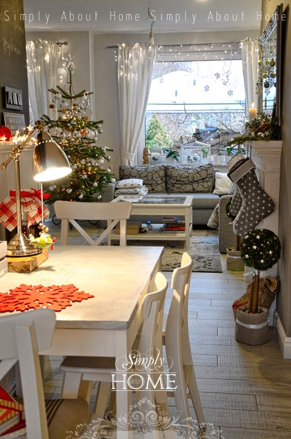 Simply about home simply christmas decoracion for Weihnachtsideen dekoration