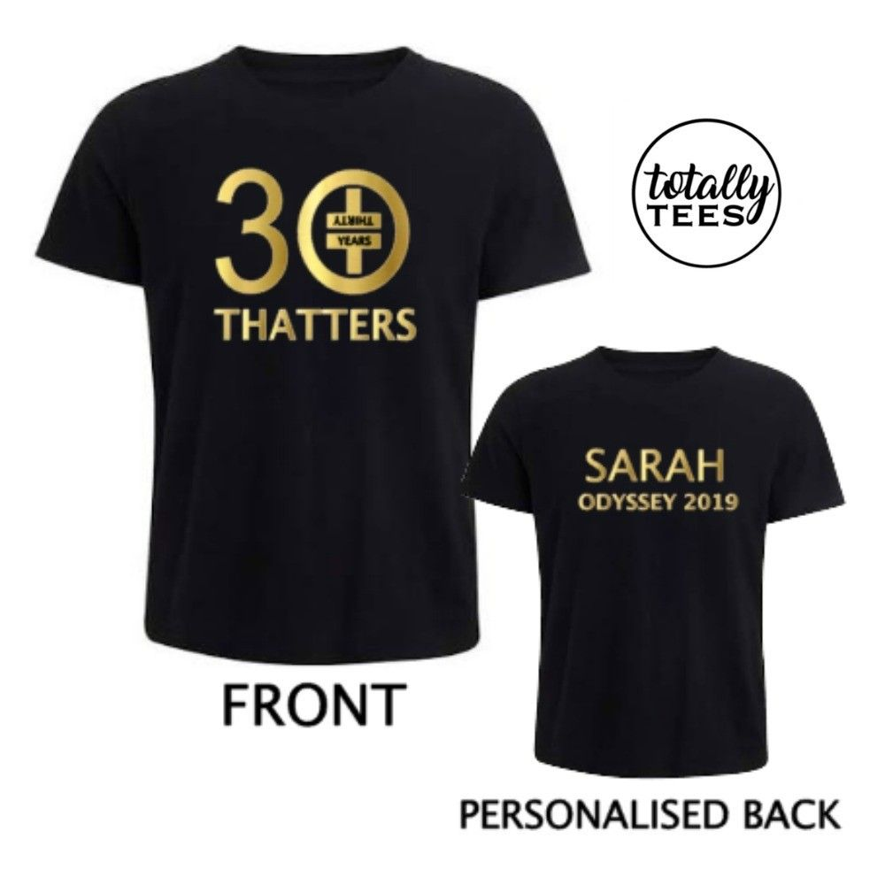 277d1fe2 Thatters Personalised T-shirt, Take That Odyssey Tour | Take That ...