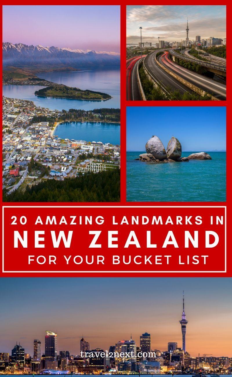 20 Incredible Landmarks In New Zealand In 2020 New Zealand Itinerary New Zealand Travel Oceania Travel