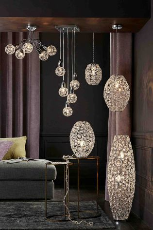Lexy 2 Light Floor Lamp from Next | Next | Lighting Solutions For ...