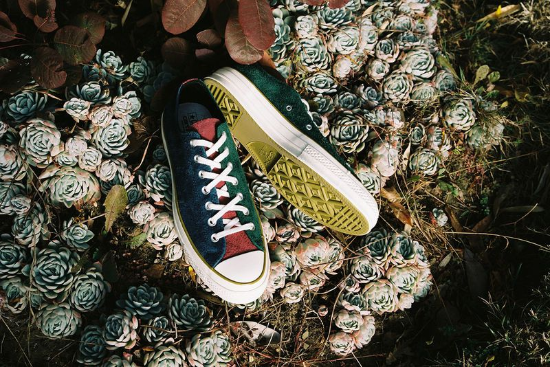8d14a2b465d8 Clothing-Inspired Canvas Shoes - Carhartt WIP and Converse Introduce Two Textile  All Star 70 Shoes (TrendHunter.com)