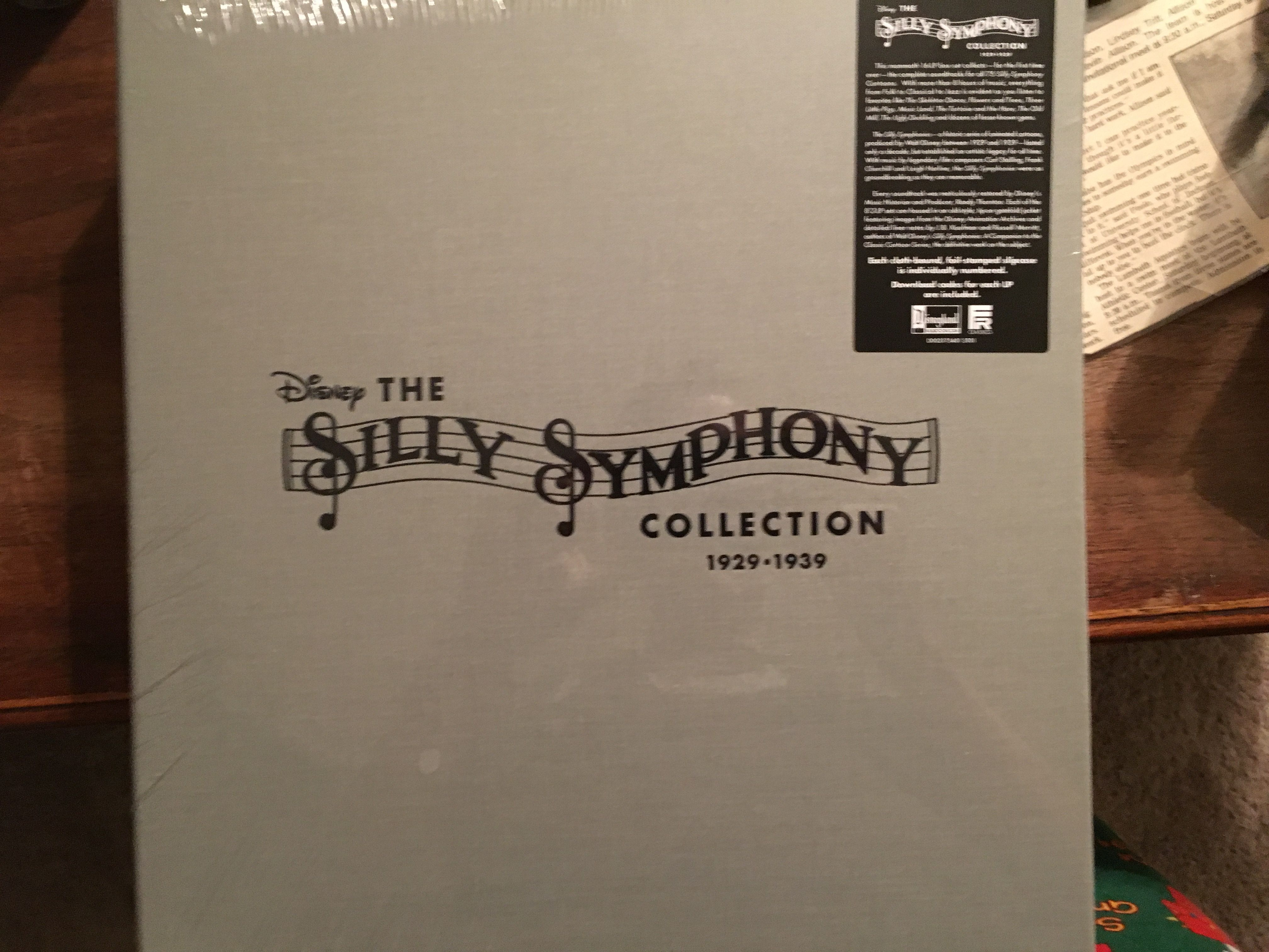 The Silly Symphony Collection 1929 1939 Box Set Vinyl Record Collection Collection Box Vinyl Records