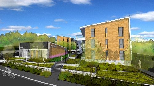 Shipping containers will be used to provide 39 affordable homes in Vacaville, Calif.