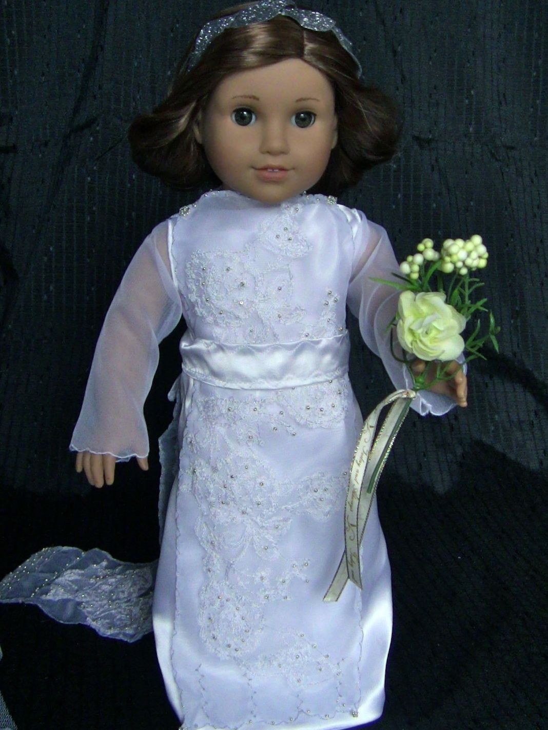 Lady Mary Wedding Dress front view | american girl doll Downton ...
