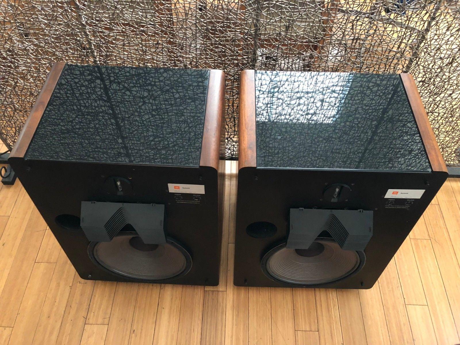 JBL L300 Summit Speakers restored loudspeakers San