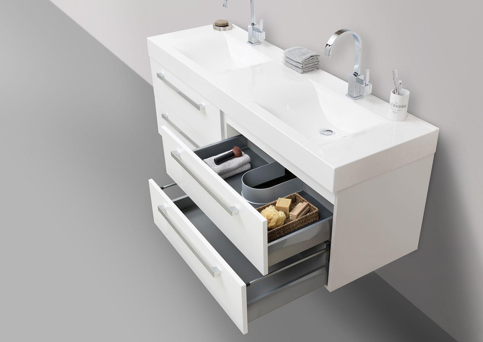 Designbaeder Com Unterschrank Doppelwaschtisch Waschtischunterschrank
