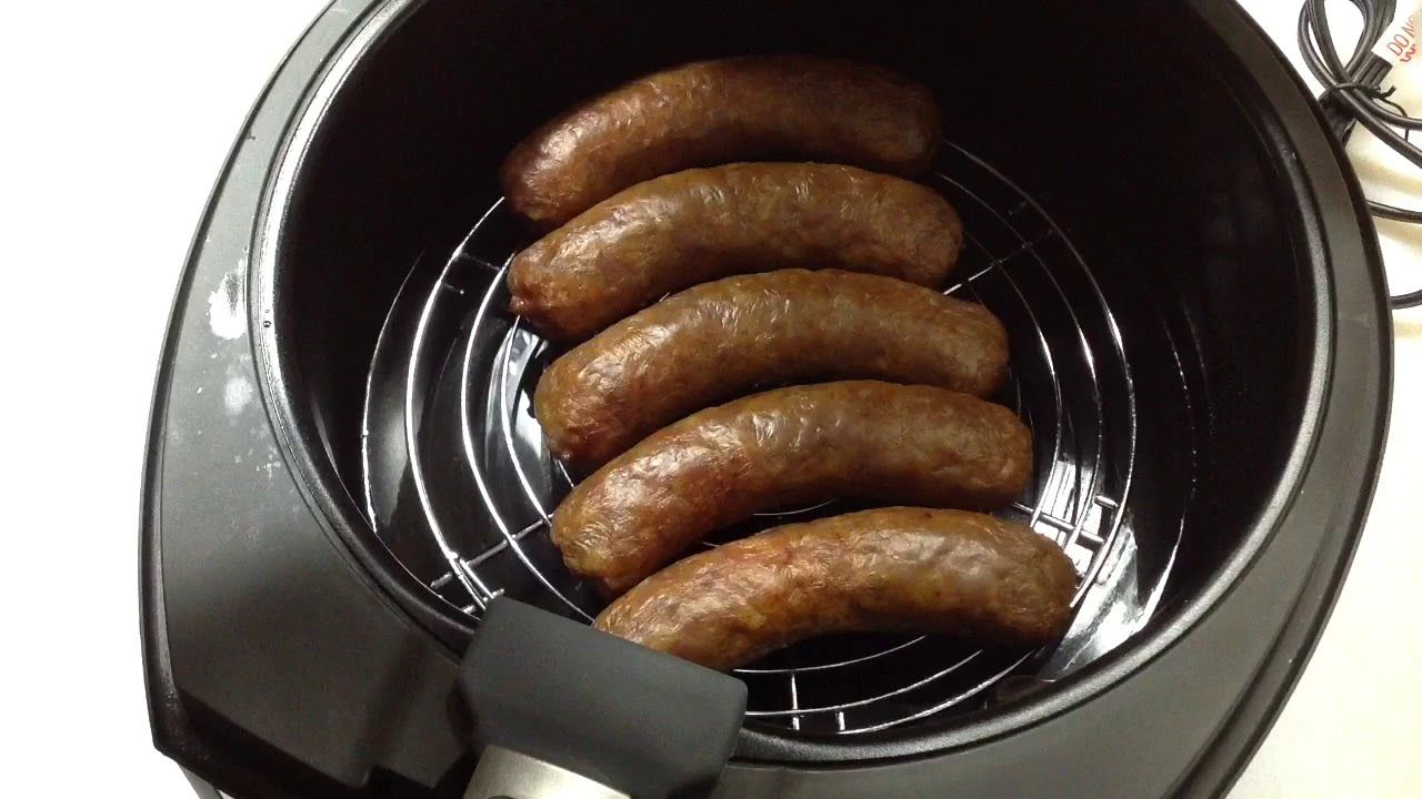 Hot Italian Sausage on the Air Fryer YouTube in 2020