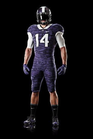 1ebbf5232 The Texas Christian University Football Uniform Was Designed By Nike #shoes  trendhunter.com