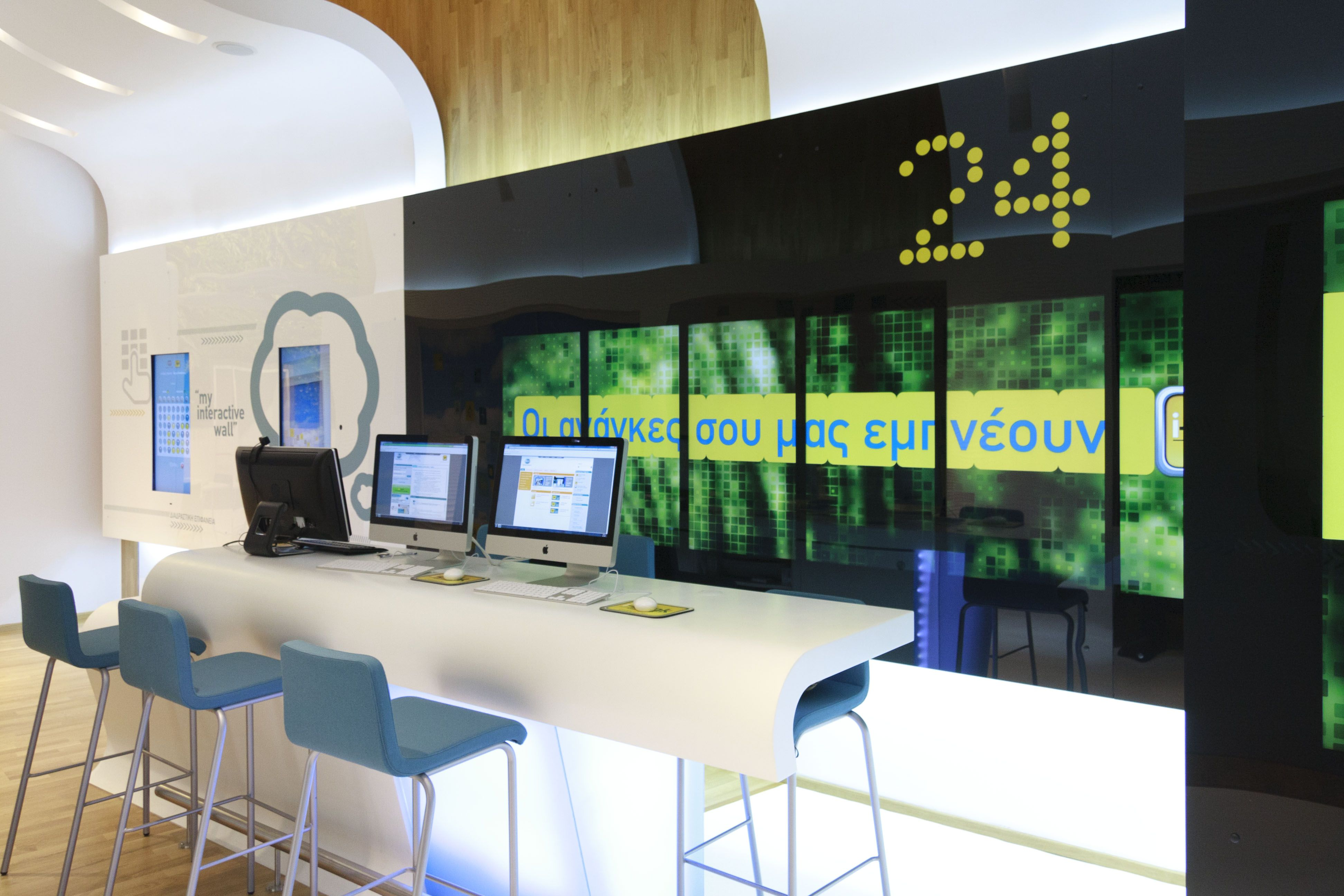 Using The Latest Technologies And Contemporary Interior Bank Design Allen International Were
