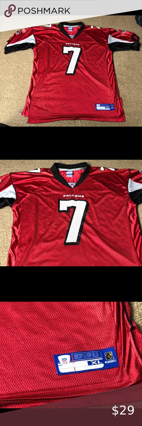 Mens Atlanta Falcons 7 Michael Vick Reebok Nf In 2020 Michael Vick Atlanta Falcons Reebok