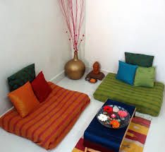 Indian Floor Seating Ideas